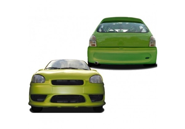 Aleron Trasero FORD Fiesta MK7 todos
