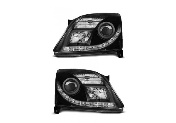 Faros faros h7 derecha negro para Opel Signum Vectra C 02-05