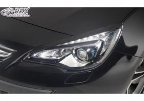 Paragolpes delantero Rieger Opel Astra H GTC 03.05-/hatchback, 3-puertas Astra H Twin-Top 09.05-/cabrio Astra H 03.04-/3-puertas